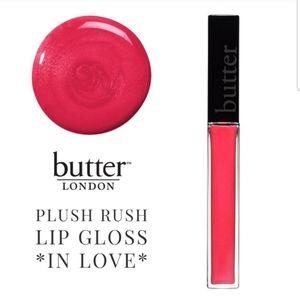 Butter London Plush Rush Lip Gloss  *In Love*